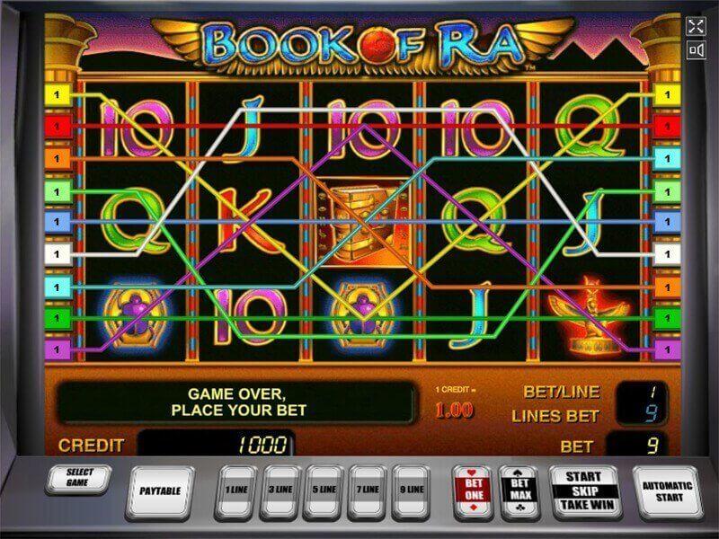 Das Spiel Book Of Ra